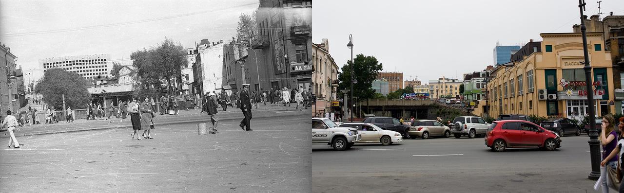 Vladivostok10 Взгляд на Владивосток в 1977 и в 2013 гг