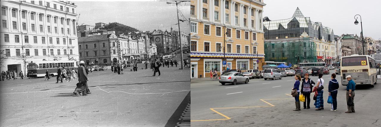 Vladivostok11 Взгляд на Владивосток в 1977 и в 2013 гг