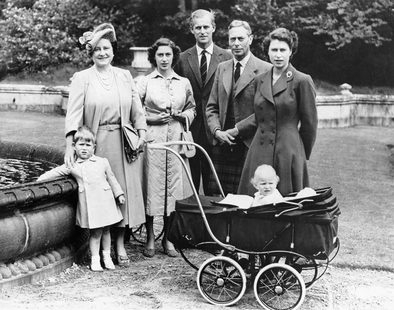 английская семья старинная
