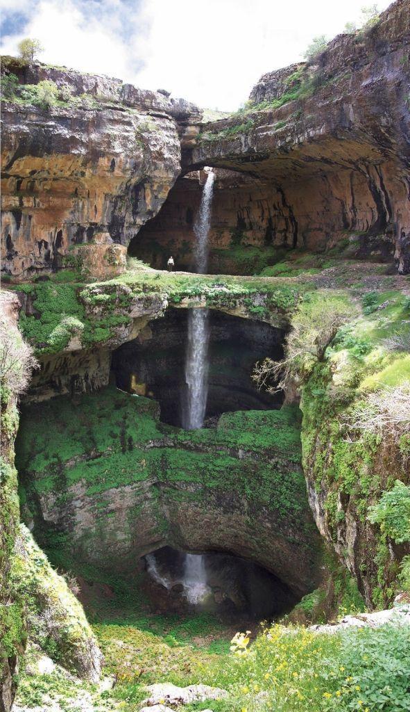 baatara09 Удивительный водопад Баатара