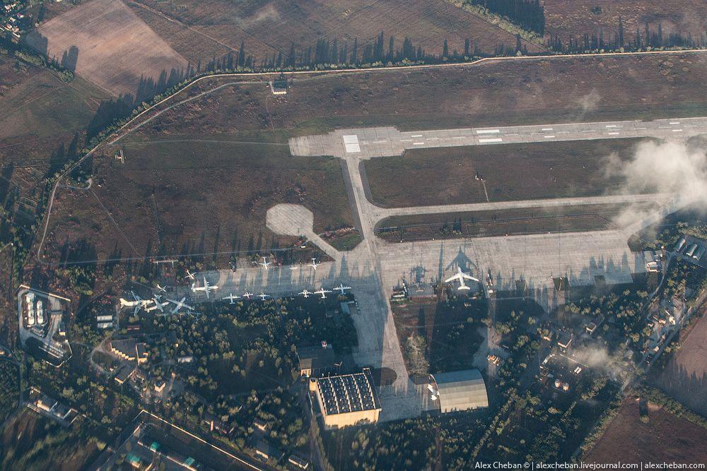 chernobyl04 Призрак Чернобыля августовским утром: взгляд сверху