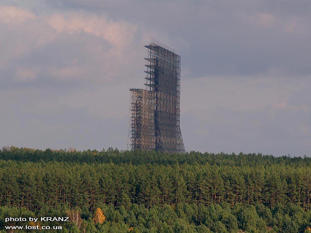 chernobyl06 Призрак Чернобыля августовским утром: взгляд сверху