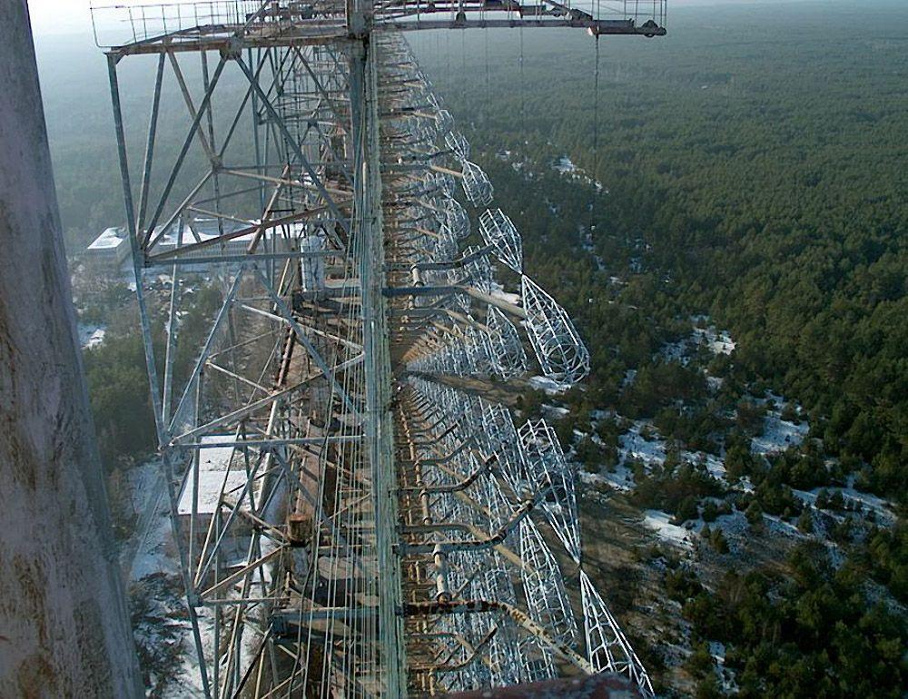 chernobyl08 Призрак Чернобыля августовским утром: взгляд сверху