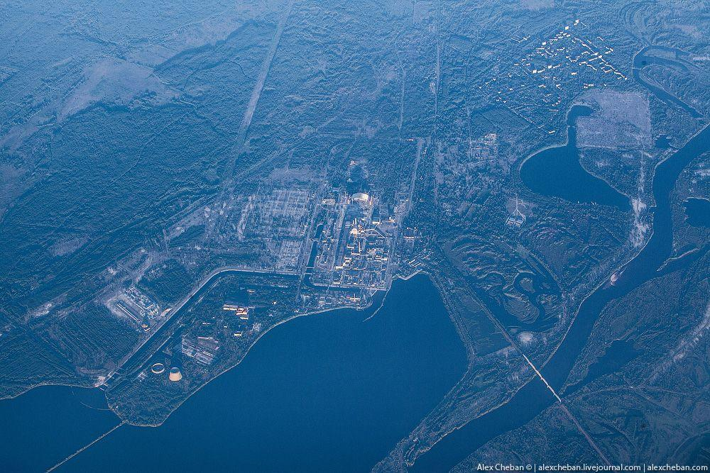 chernobyl09 Призрак Чернобыля августовским утром: взгляд сверху