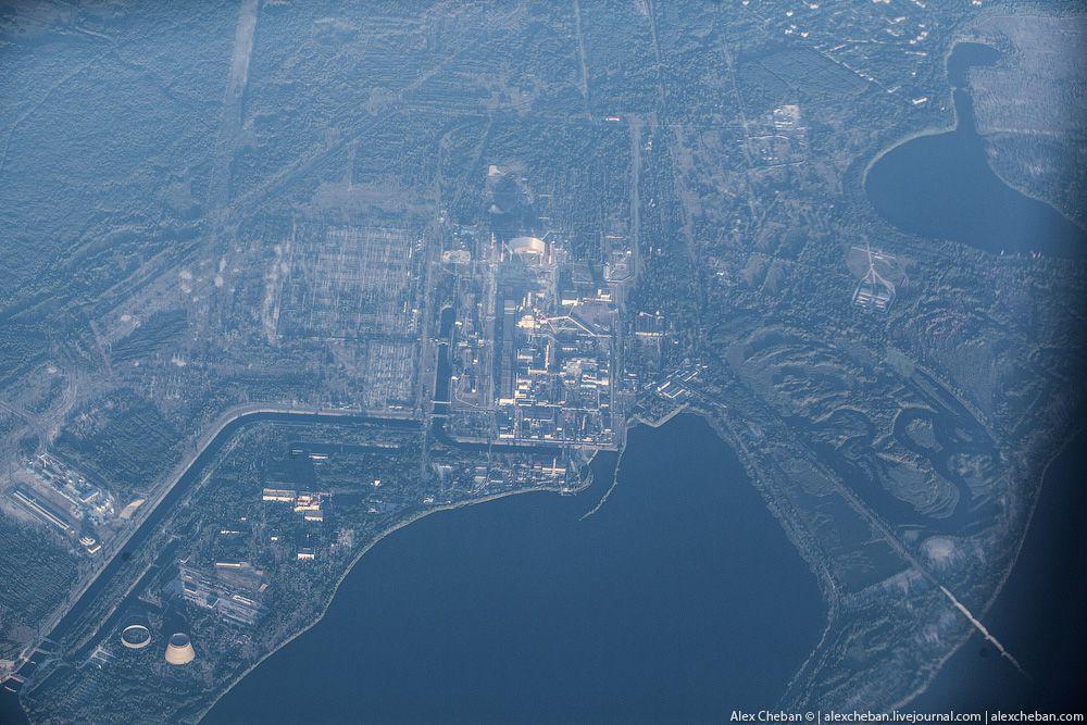 chernobyl10 Призрак Чернобыля августовским утром: взгляд сверху