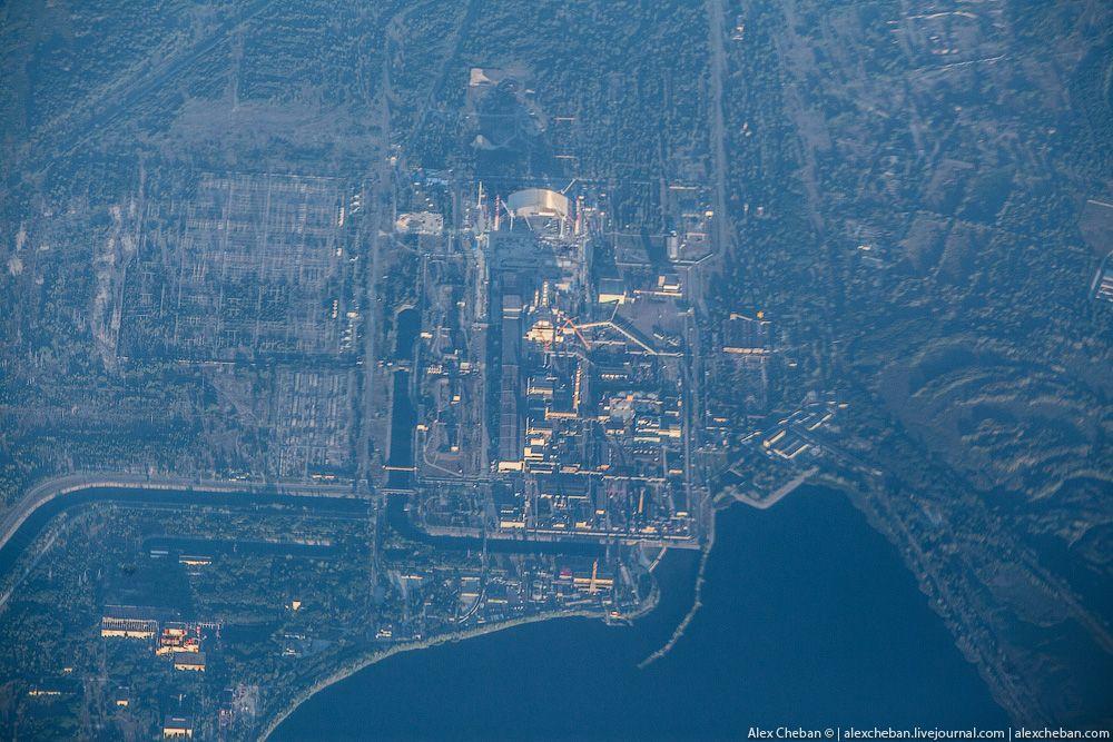 chernobyl12 Призрак Чернобыля августовским утром: взгляд сверху