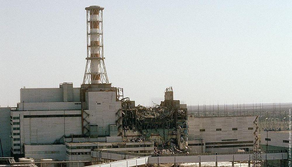 chernobyl131 Призрак Чернобыля августовским утром: взгляд сверху