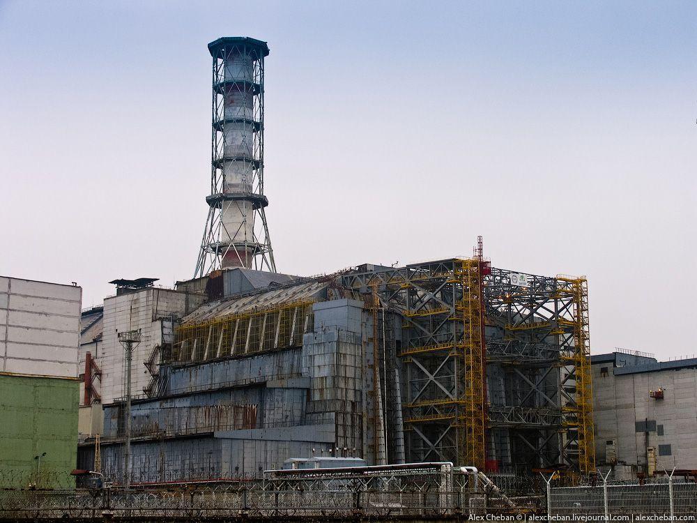 chernobyl14 Призрак Чернобыля августовским утром: взгляд сверху