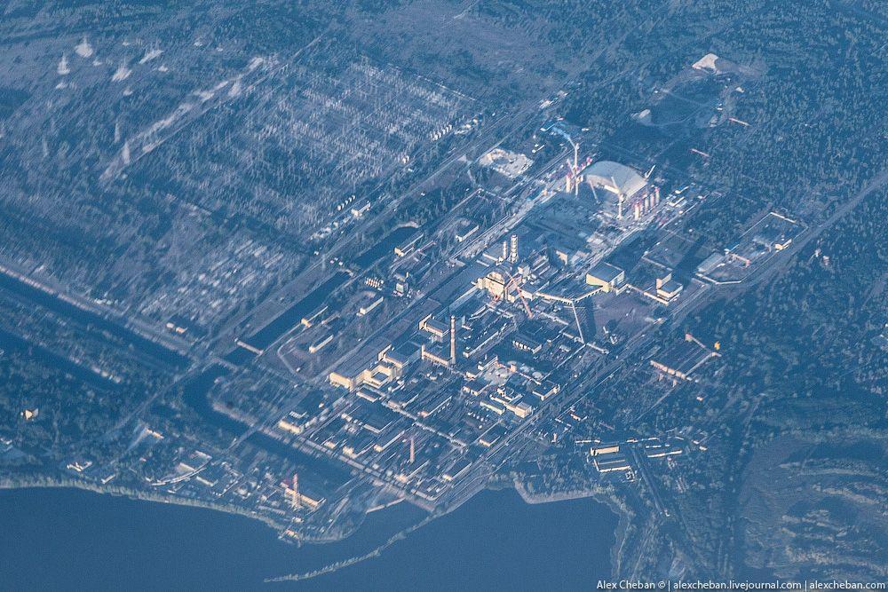 chernobyl16 Призрак Чернобыля августовским утром: взгляд сверху
