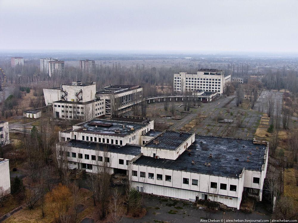 chernobyl22 Призрак Чернобыля августовским утром: взгляд сверху