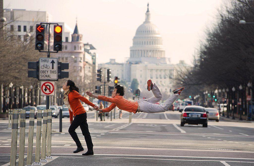 dancers05 Танцоры балета развлекаются