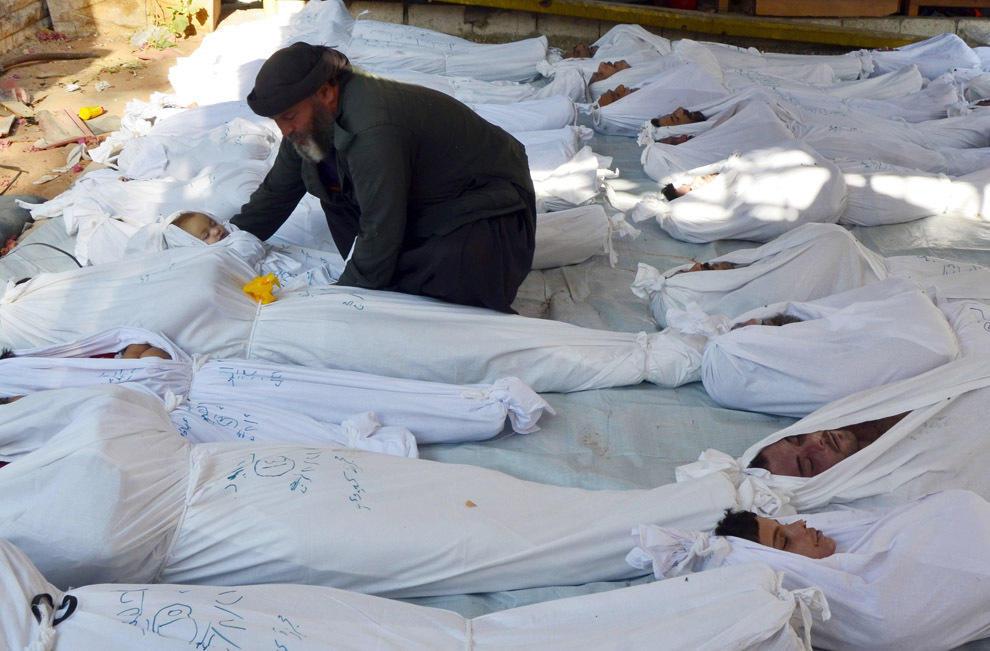 gazsiria02 Газовая атака в Сирии