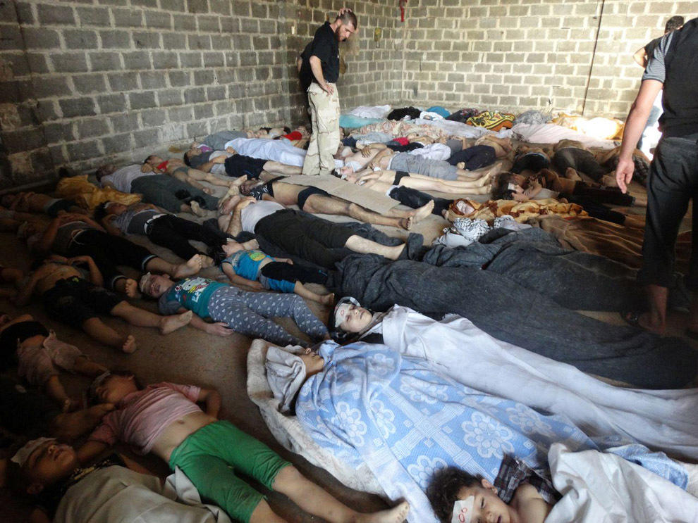 gazsiria03 Газовая атака в Сирии
