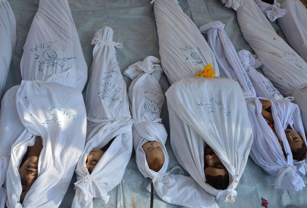 gazsiria05 Газовая атака в Сирии