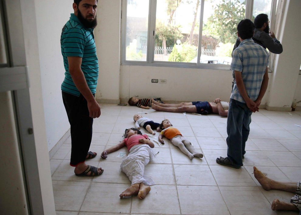 gazsiria11 Газовая атака в Сирии