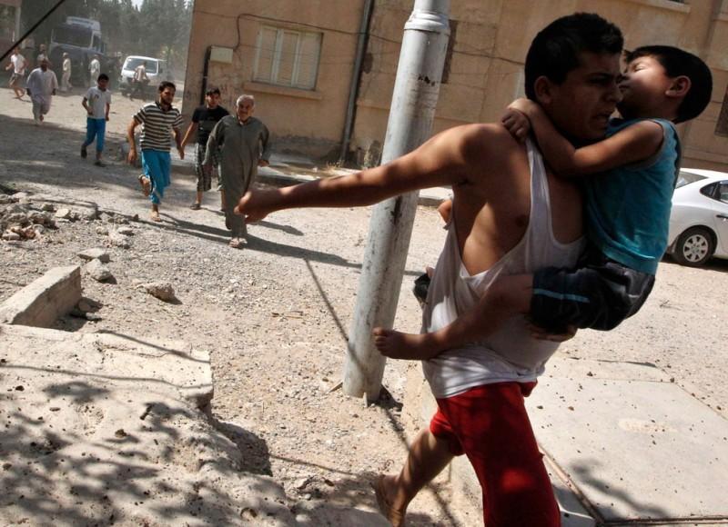 Газовая атака вСирии