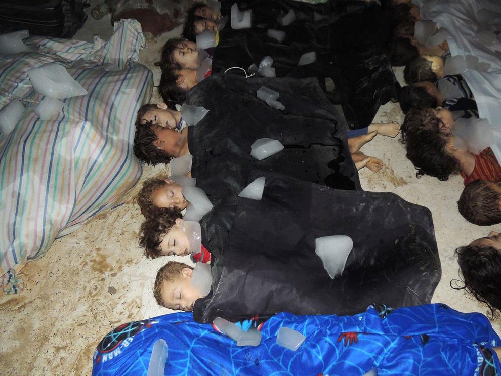 gazsiria17 Газовая атака в Сирии