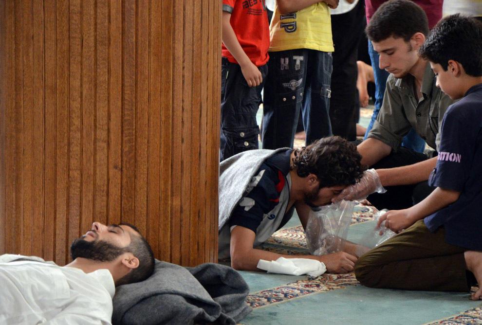 gazsiria19 Газовая атака в Сирии