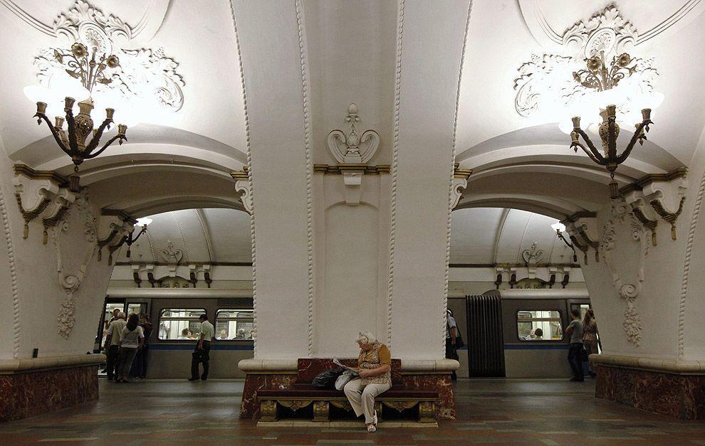 mskmetro08 Московское метро глазами иностранки