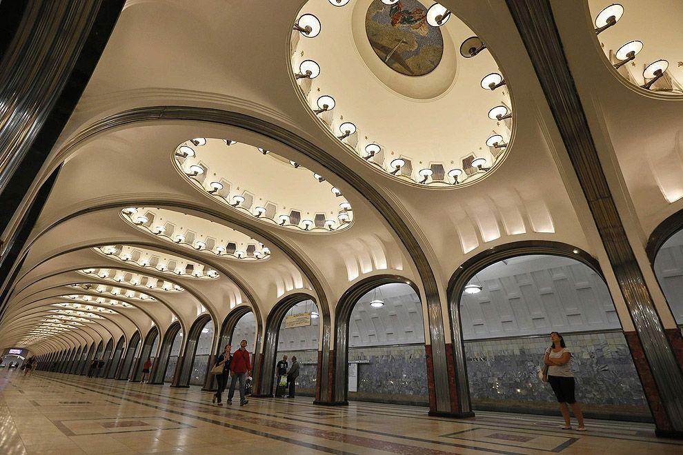 mskmetro15 Московское метро глазами иностранки