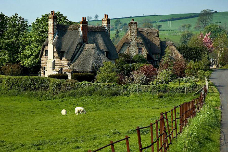 thatched cottage6 Сказочное графство Девоншир