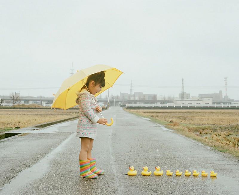toyokazu01 800x653 Необычный фотоальбом 4 летней японки