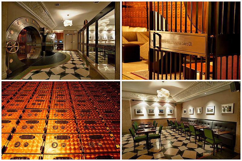 Банковское хранилище 20‑х годов превратили в стильный ресторан