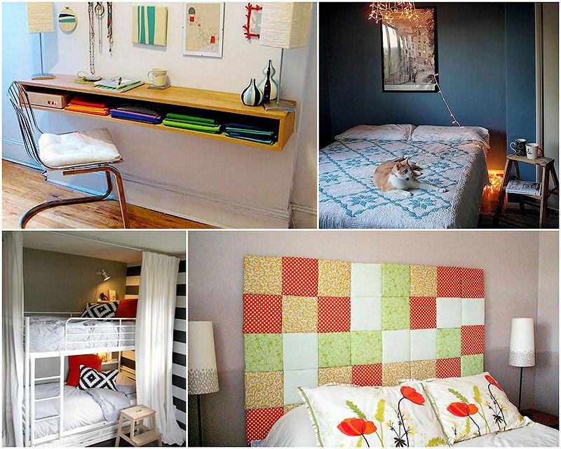 BIGPIC20 23 совета: Как обустроить маленькую спальню