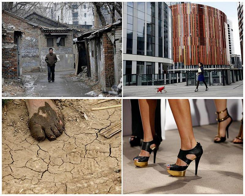 Социальные контрасты Китая: бедные и богатые
