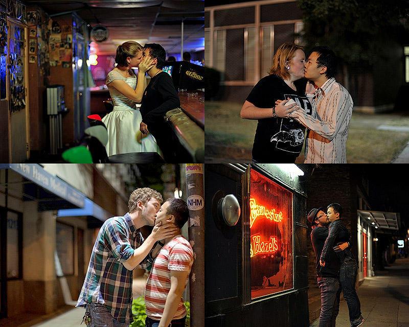 Поцелуи друзей и незнакомцев
