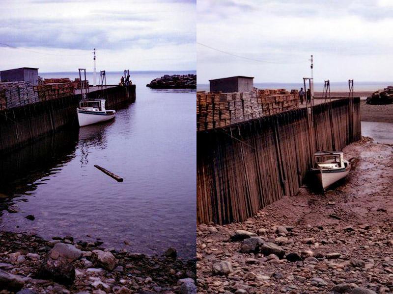 BIGPIC25 Британское побережье во время прилива и отлива