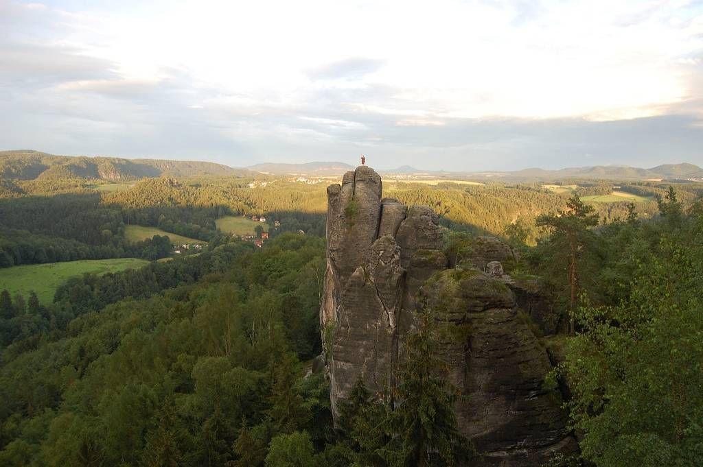Bastei12 Бастай   каменный бастион Саксонии