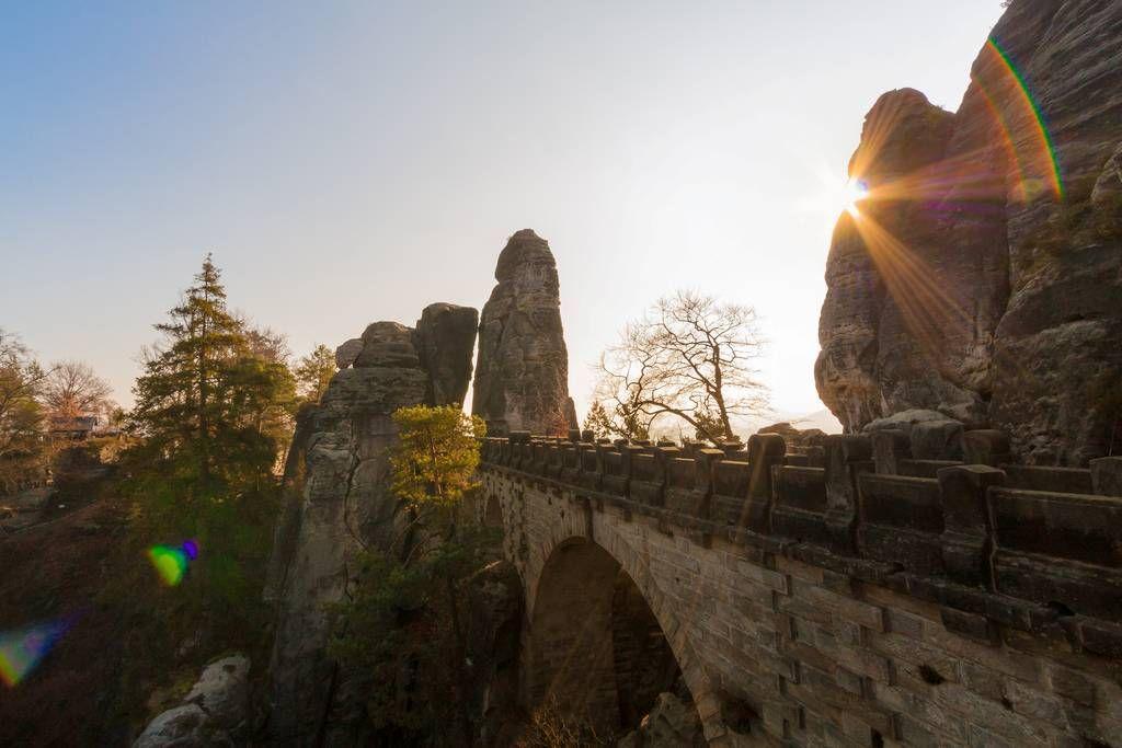Bastei17 Бастай   каменный бастион Саксонии
