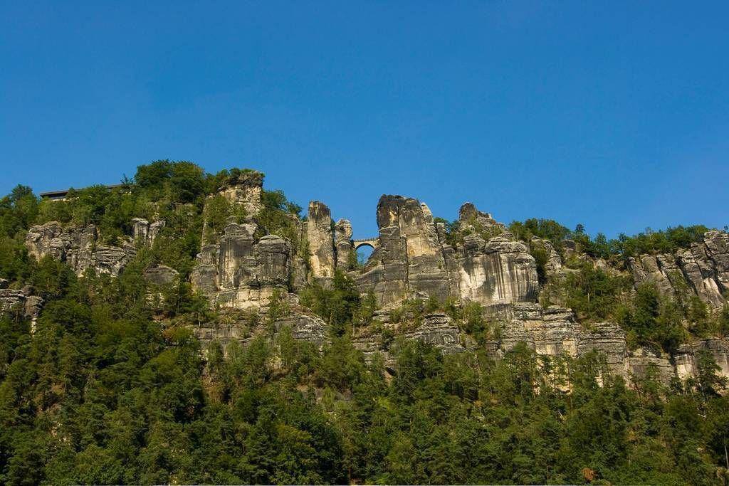 Bastei24 Бастай   каменный бастион Саксонии