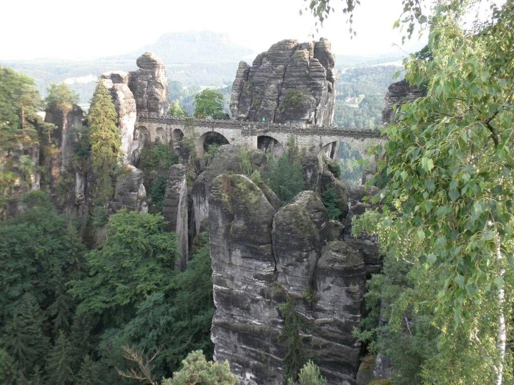 Бастай – каменный бастион Саксонии
