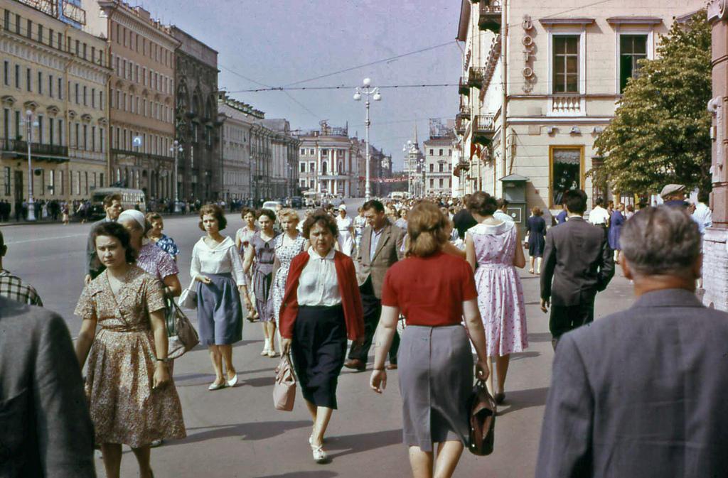 Leningrad1961 07 Ленинград 1961 го года