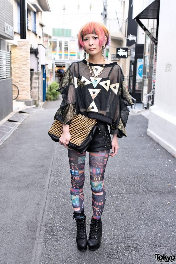 TokyoStyle05 Уличная мода Токио