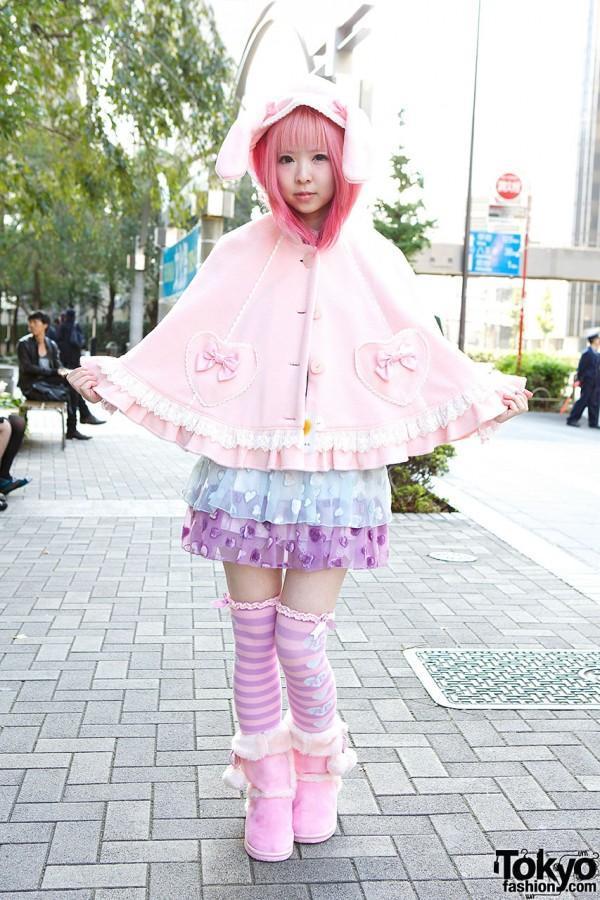 TokyoStyle06 Уличная мода Токио