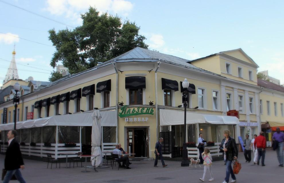 Главных московских зданий из романов
