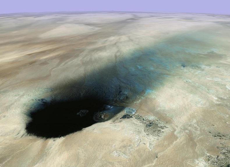WawanNamus03 Вау ан Намус   оазис в вулканическом кратере