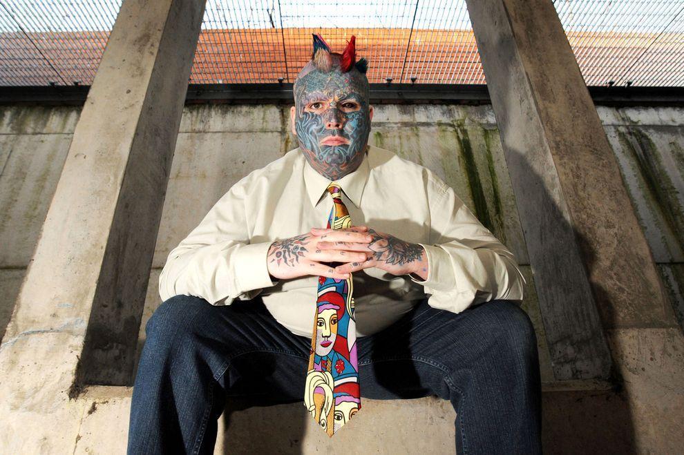 Whealen02 Самый татуированный человек Британии