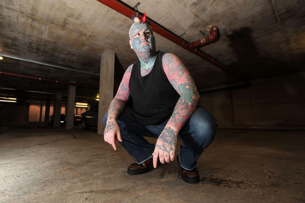 Whealen03 Самый татуированный человек Британии