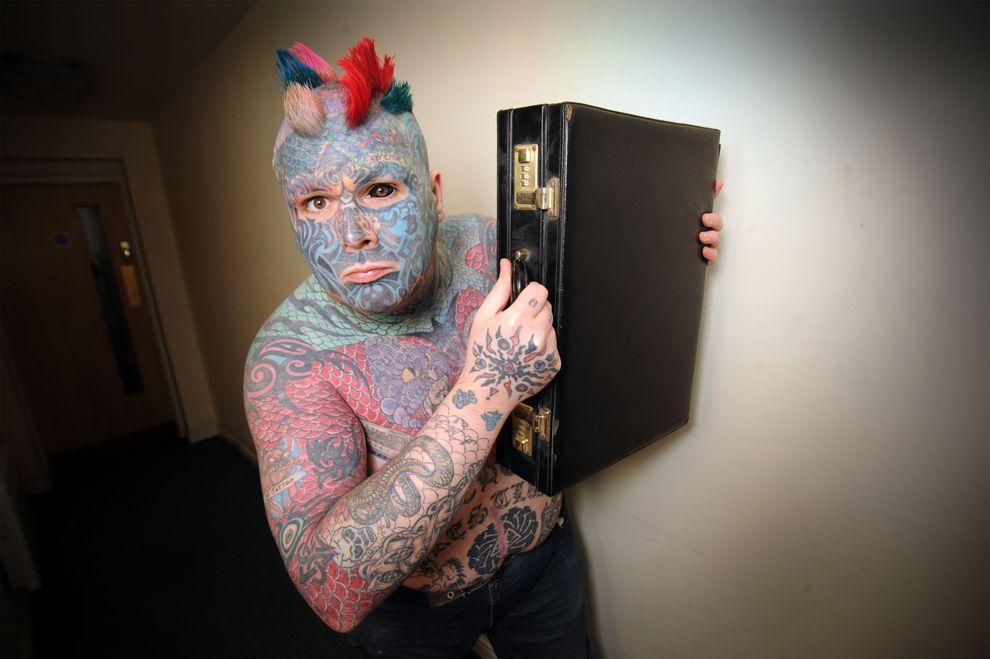Whealen06 Самый татуированный человек Британии