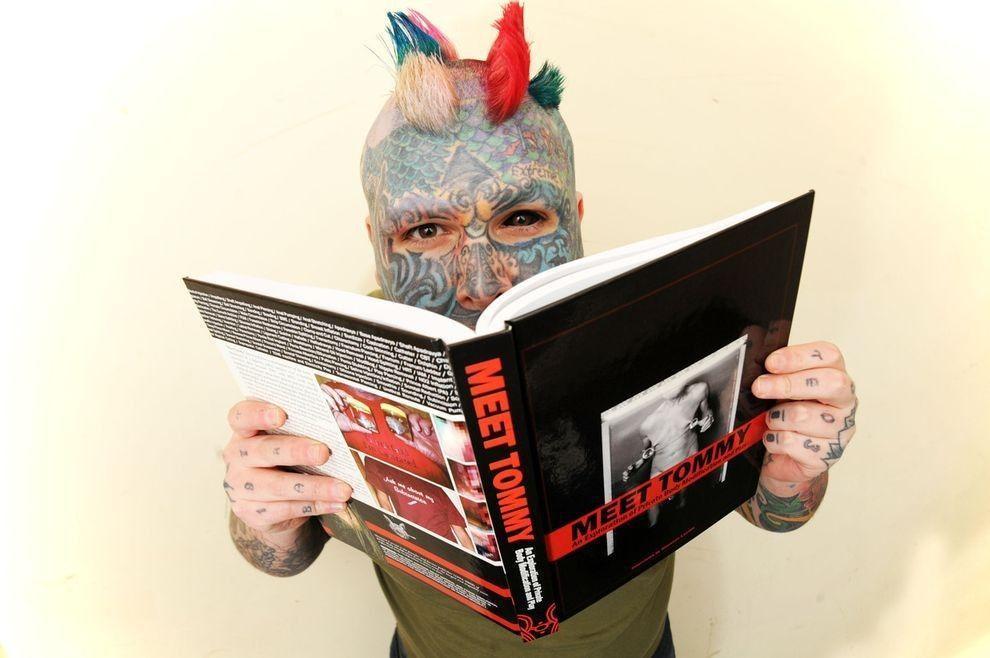 Whealen10 Самый татуированный человек Британии