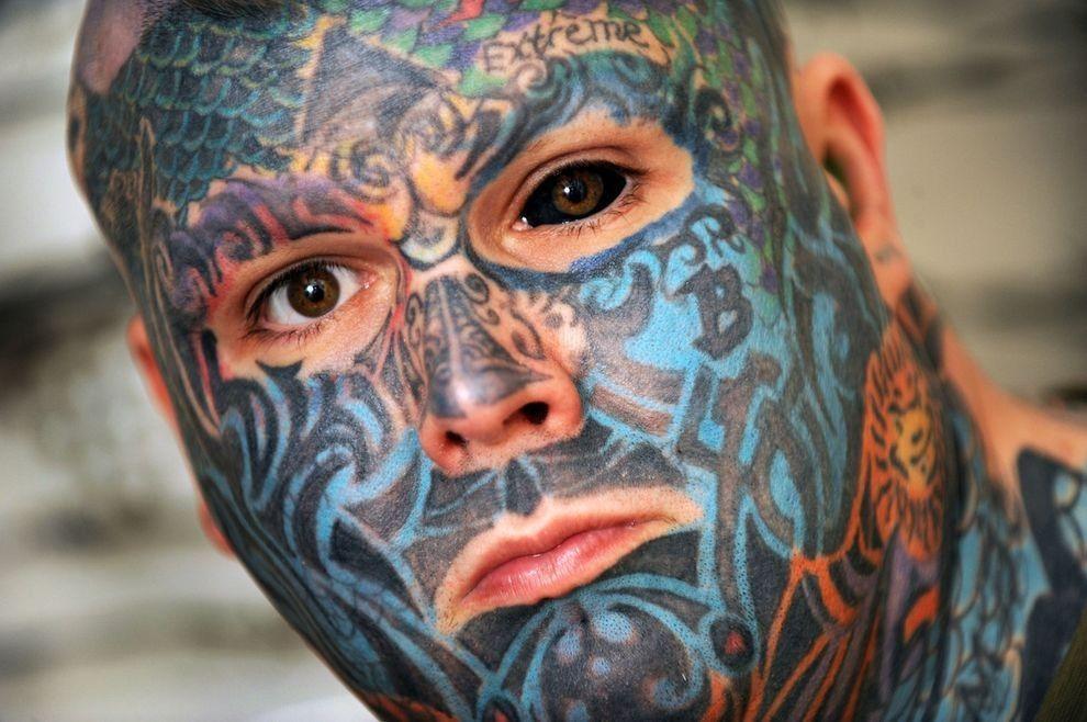 Whealen11 Самый татуированный человек Британии