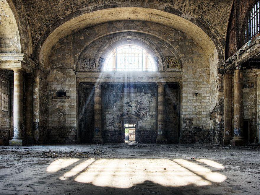 abandoned14 Заброшенные места с жутковатой атмосферой