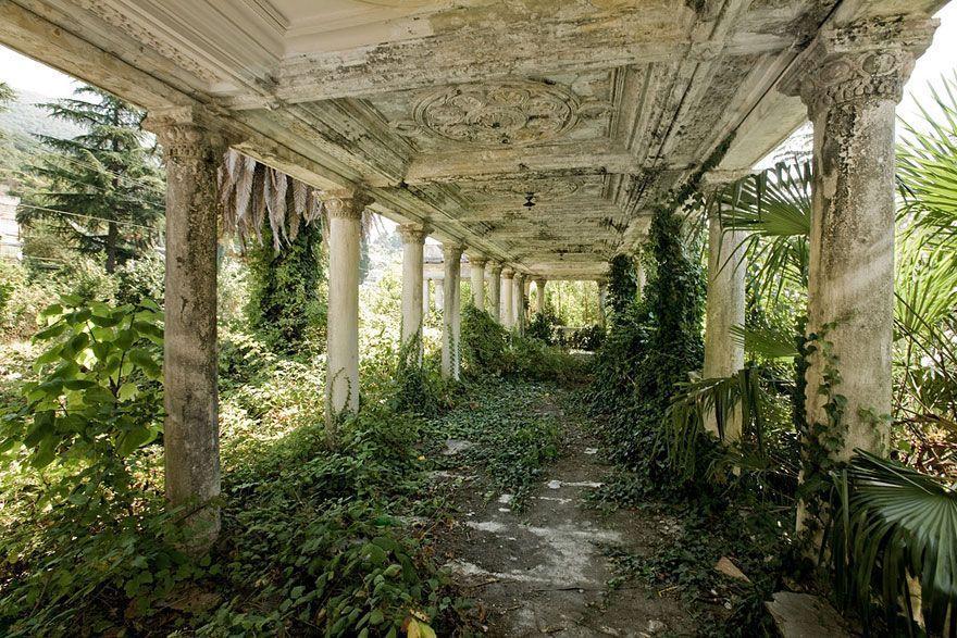 abandoned17 Заброшенные места с жутковатой атмосферой