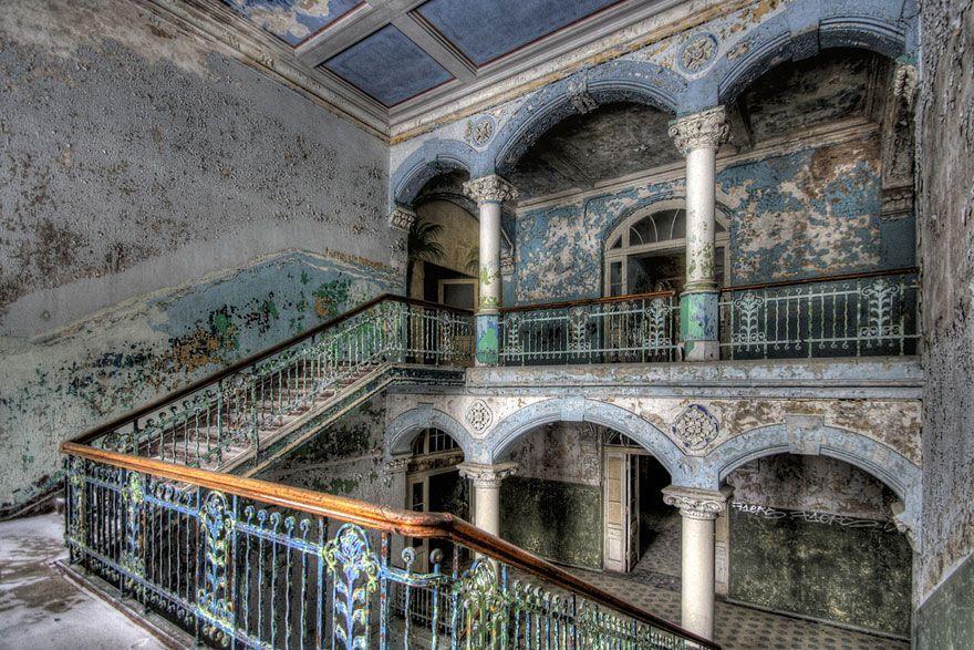 abandoned26 Заброшенные места с жутковатой атмосферой