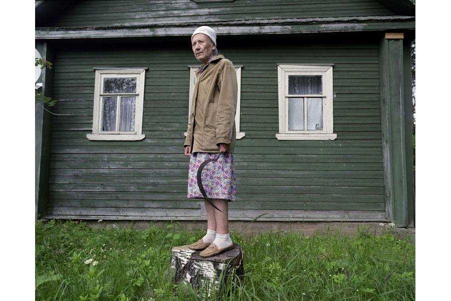 aunties01 15 уникальных фотографий из жизни российской глубинки