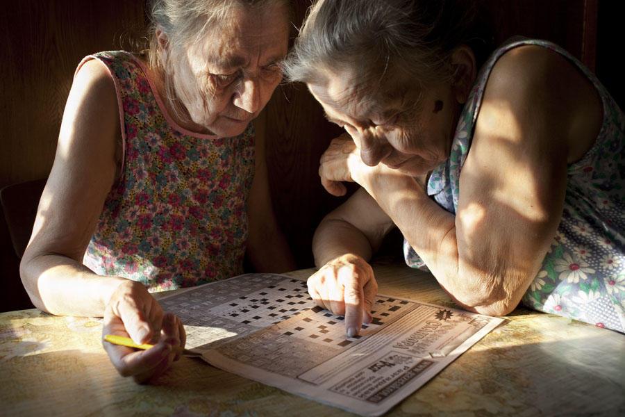 aunties05 15 уникальных фотографий из жизни российской глубинки